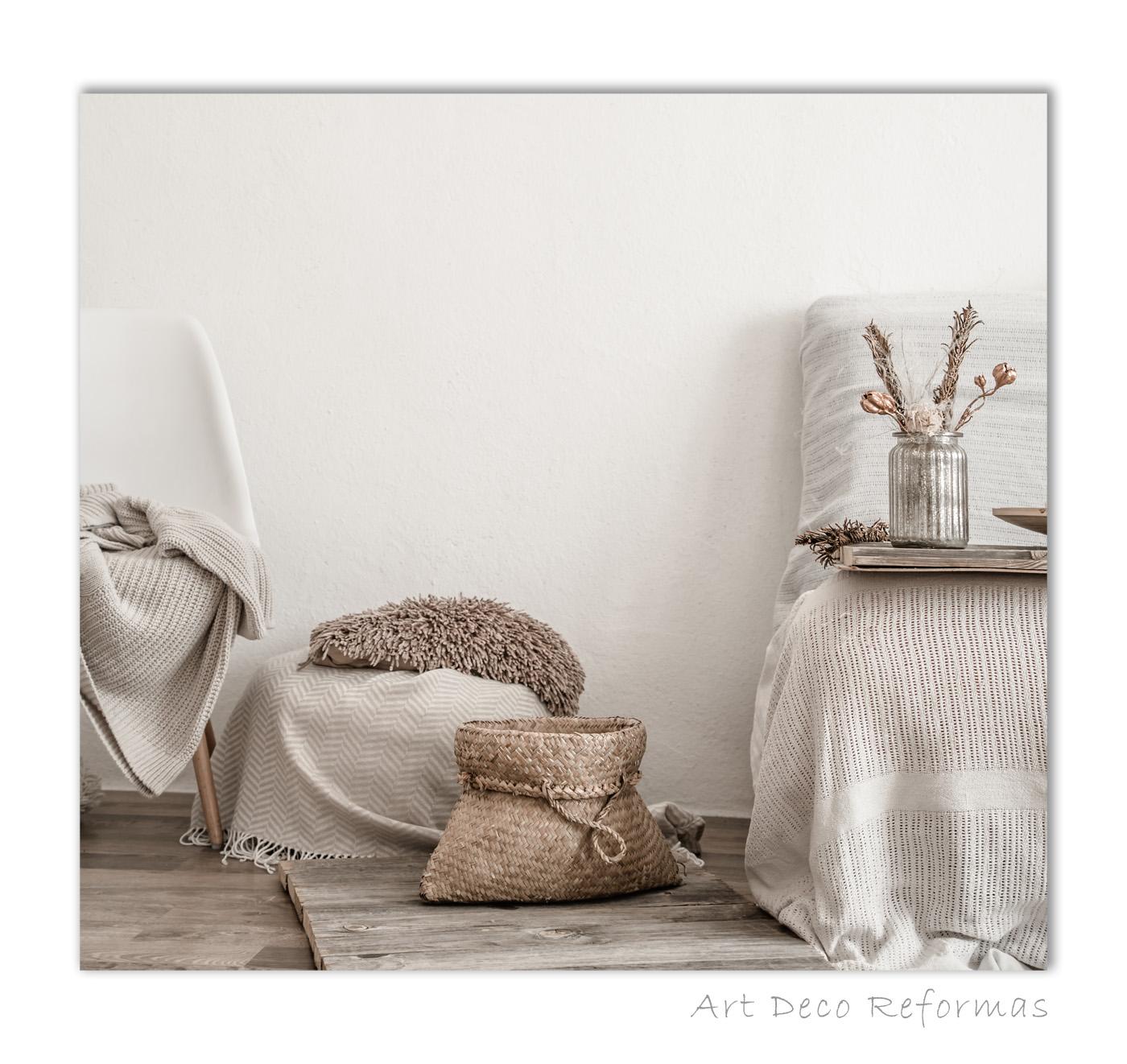 decoracion interior blanco crema
