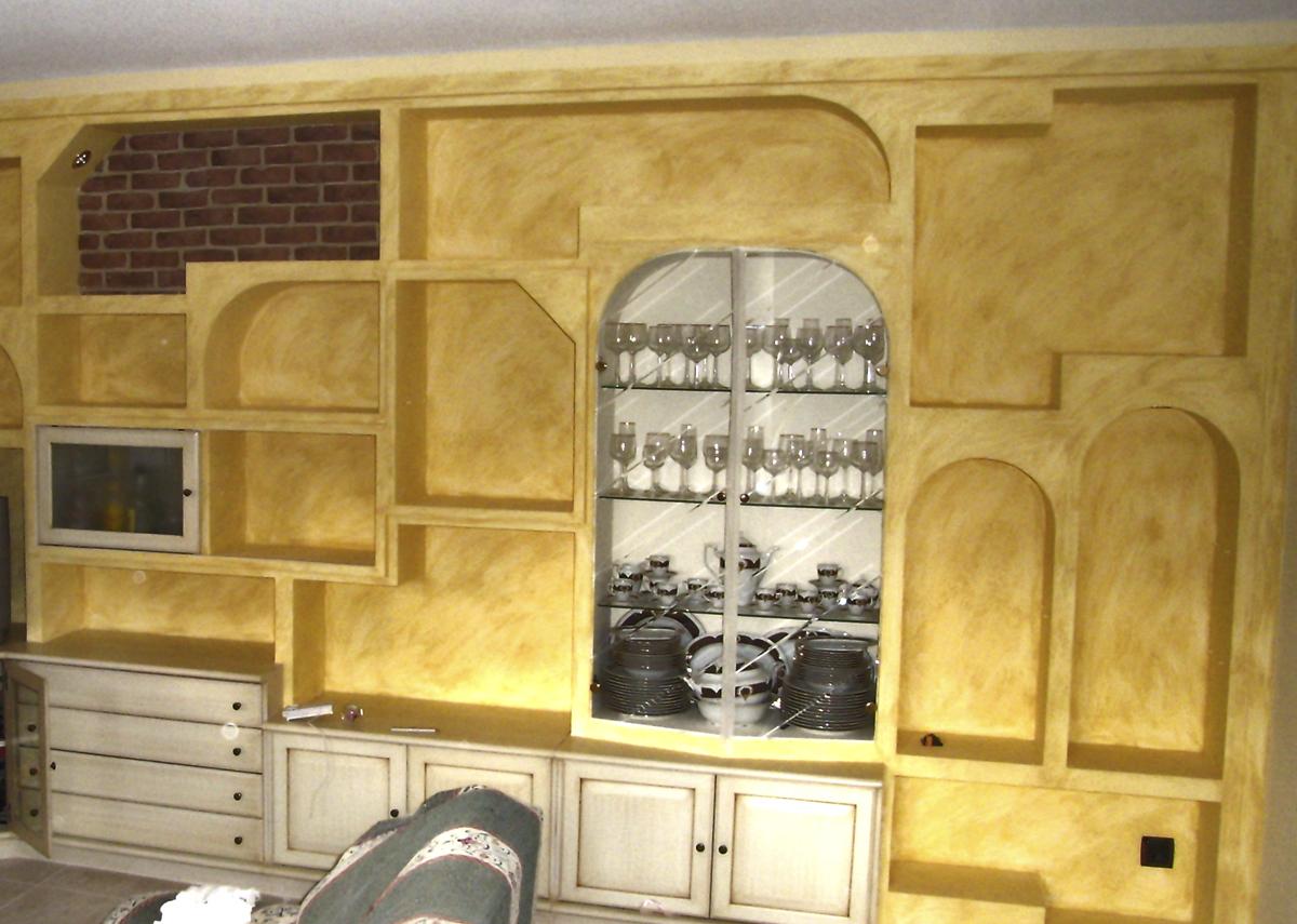 pintura mueble salon
